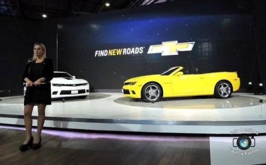 Chevrolet Camaro – un clasico deportivo renovado en el 7° Salón del Automóvil