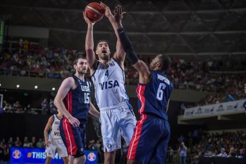 Argentina venció a Estados Unidos y sacó pasaje para el Mundial de China 2019
