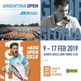 El Argentina Open 2019 arrancó con la venta de entradas para ver a Thiem, Fognini, Schwartzman  y la despedida de Ferrer