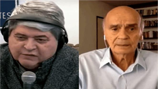 Datena abandona entrevista Ao Vivo com Drauzio Varella após descobrir que a sogra morreu