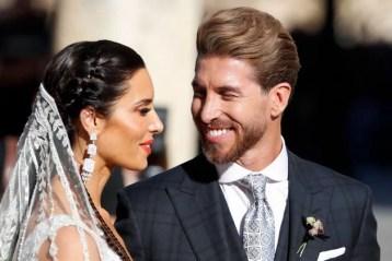 La boda de Sergio Ramos y Pilar Rubio se celebró en la Catedral de Sevilla. Acudieron en total unos 500 invitados que vieron en directo al grupo Europe.