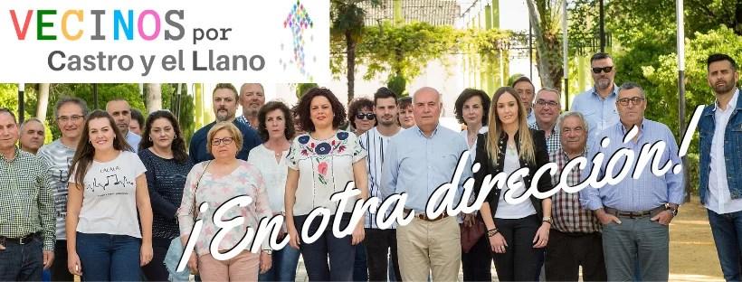 María Ángeles Luque, candidata a la alcaldía por el partido Vecinos por Castro y el LLano, se ha convertido en la primera alcaldesa de Castro del Río