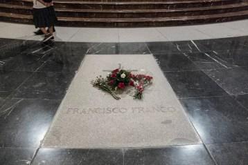exhumación de Franco