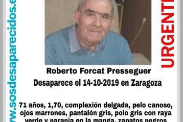 Desaparecido Zaragoza
