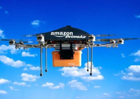 Amazon e google iniziano le consegne tramite droni