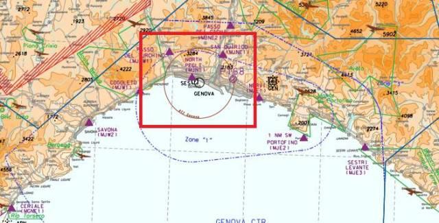 cartina enav-zona atz-zona traffico aereoportuale-ctr-enac-genova