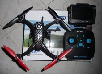 unboxing jjrc x1g shuttle-recensione jjrc x1g shuttle-quadricottero-fpv-brushless-2mp