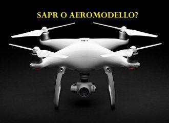 cosa significa sapr-qual'è la differenza tra un aeromodello e un sapr-apr-phantom 4
