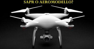 Cosa significa SAPR e qual'è la differenza con un Aeromodello