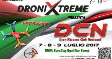 DroniXtreme Club National 2017: in gioco c'è l'ERSA Euro CUP