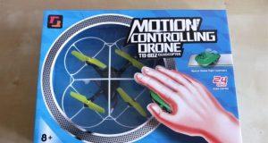 recensione TECHBOY TB-802 Motion Controlling Drone-drone che si pilota con mouse