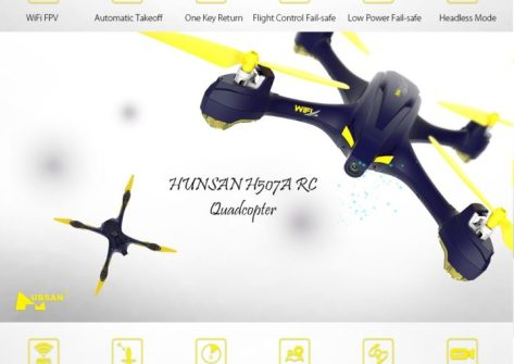 recensione hubsan h507a x4 star pro rc-gps