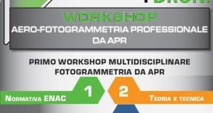 seminario aerofotogrammetria professionale con droni-idroni verona corso