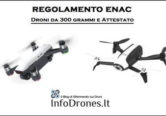 I droni da 300 grammi-attestato droni 300 grammi-patentino droni 300 grammi-dove volare droni 300 grammi