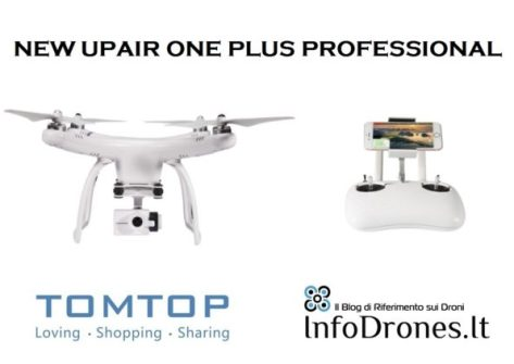 recensione upair one plus professional tomtop coupon offerte