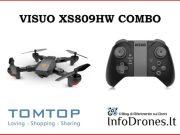 VISUO XS809HW combo tomtop-codice coupon visuo tomtop