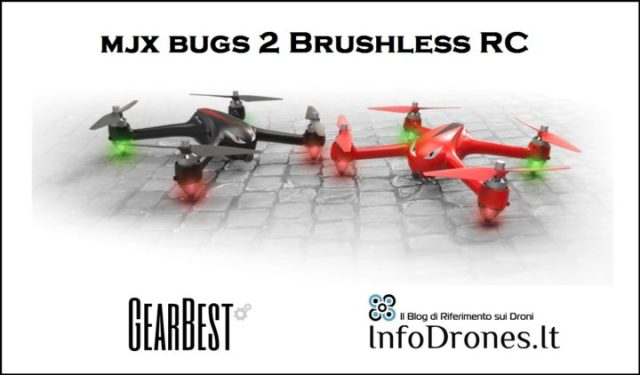 drone mjx bugs 2 gearbest coupon promo sconto