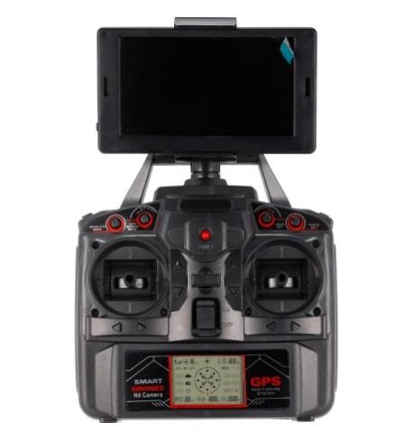 radio télécommande mondiale drone x183gps 5.8g fpv lcd écran