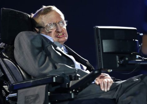 Britain Hawking Trump