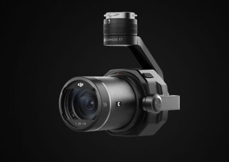caratteristiche Zenmuse X7 Camera with 16mm lens1