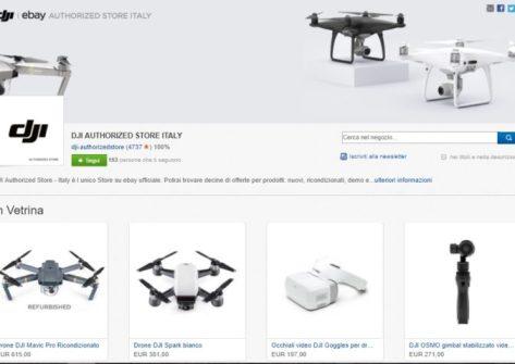 dji ebay-dji droni ricondizionati-ebay dji-store dji ebay