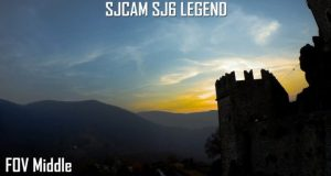 sjcam sj6 legend FOV test - sjcam fov middle-fov narrow-fov wide