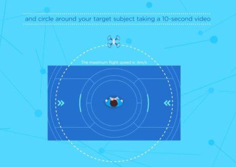 tutorial dji spark come fare il circle mode-come eseguire cerchio con dji spark-circle mode dji spark-orbit dji spark-come fare orbit dji spark