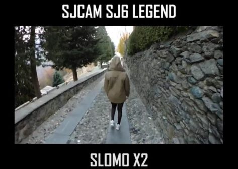 video sjcam sj6 legend slomo-slow motion sjcam sj6 legend