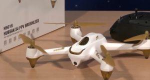 Configurazione drone Hubsan H501S
