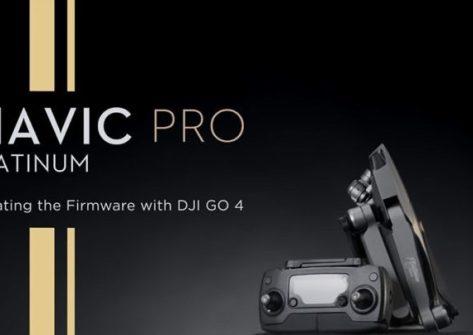 Come aggiornare il firmware del DJI Mavic Pro Platinum