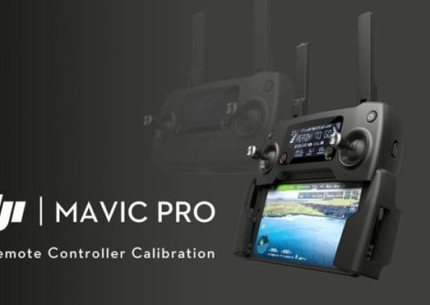 Come calibrare il controller del dji mavic pro