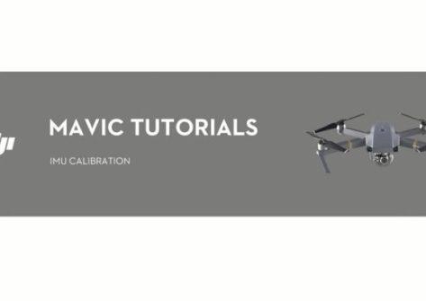 Come calibrare la IMU nel DJI Mavic Pro