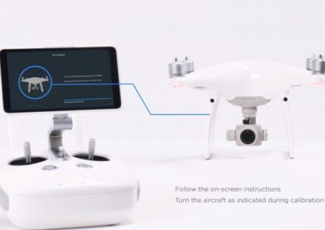 Come calibrare la IMU nel DJI Phantom 4 Pro