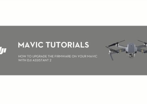 Come eseguire upgrade o downgrade nel DJI Mavic Pro