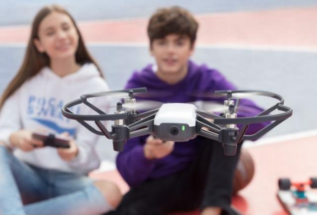 app Drone DJI tello-nuovo drone dji ces 2018