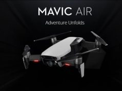 nuovo drone dji mavic air