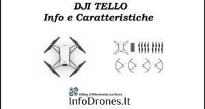 video youtube DJI Tello info e caratteristiche