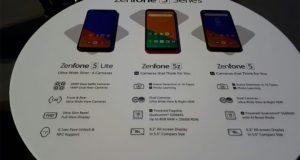 Nuova gamma Asus ZenFone 5