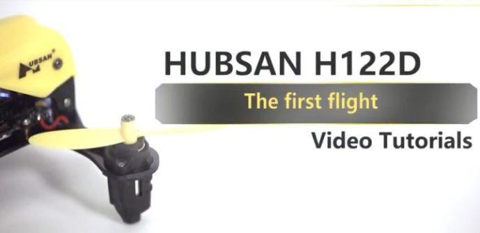 Primo volo hubsan h122d