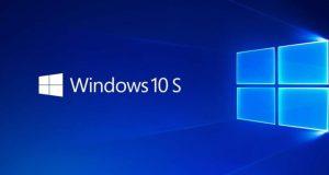 microsoft WINDOWs 10 s