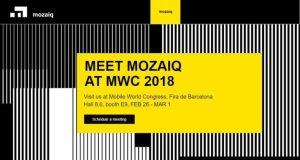 mozaiq mwc 2018 barcellona-applicazioni IoT