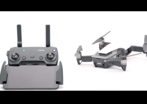 tutorial connettere radiocomando al dji mavic air djigo 4
