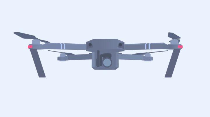 Componenti principali del drone DJI Mavic Pro