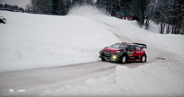 WRC Rally Svezia DJI