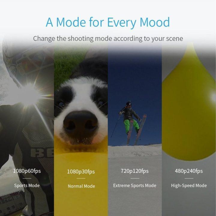 Yi Action Camera caratteristiche