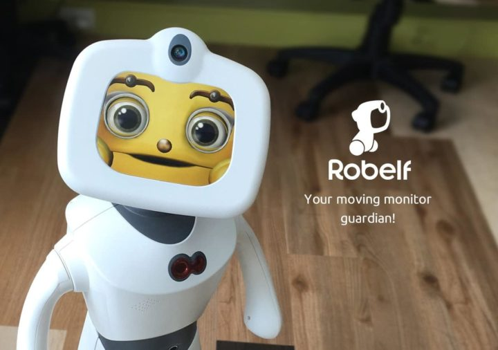 robot robelf mwc barcellona 2018