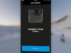 Connessione GoPro Fusion