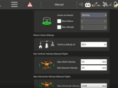 Yuneec Typhoon H520 limiti di velocità video tutorial
