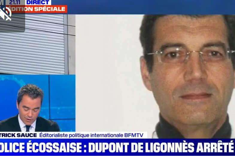 Xavier Dupont De Ligonnes Arrete A Glasgow
