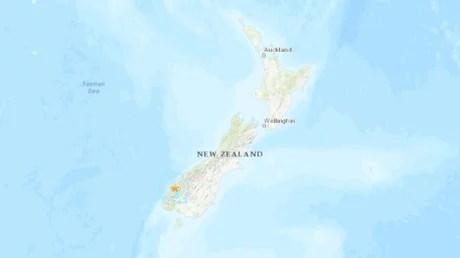Un sismo de magnitud 5,6 azota Nueva Zelanda